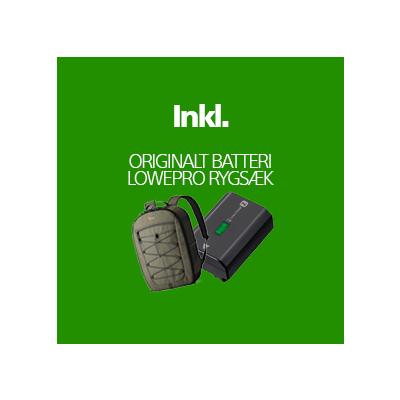 A7S III Inkl Ekstra Original Batteri, Vouchers, Lowepro Rygsæk & Fordelsprogram