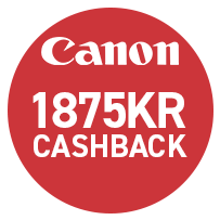 Canon EOS RP Hus m. RF 24-70mm f/2.8L + Adapter (Cashback)