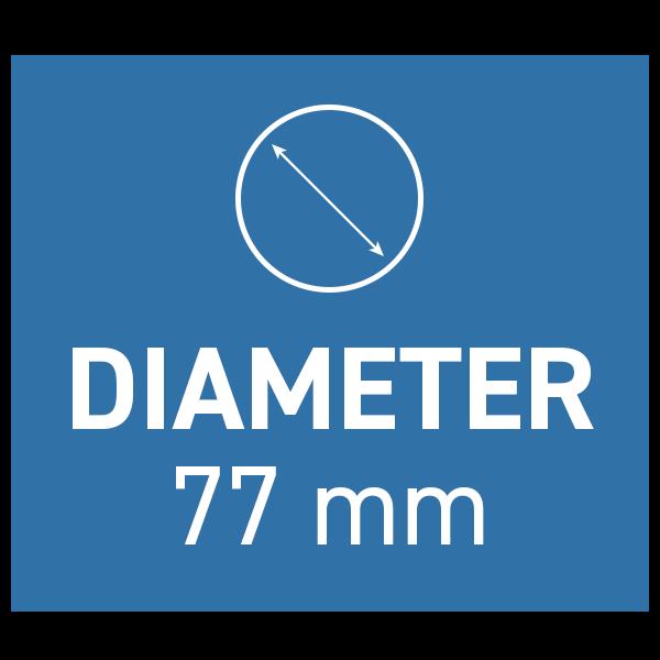 PolarPro Peter McKinnon Variabelt ND-filter Signature Edition II 77mm 2-5 Stop
