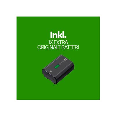 FX3 Hus (Inkl. Fordelsprogram & 1x Extra Original Batteri) + Voucher