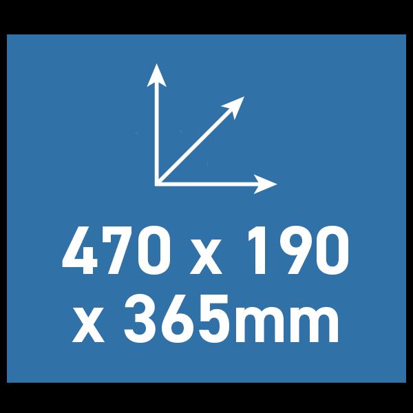 BW Outdoor Cases Type 5000 Sort (Præ-skåret Skum)