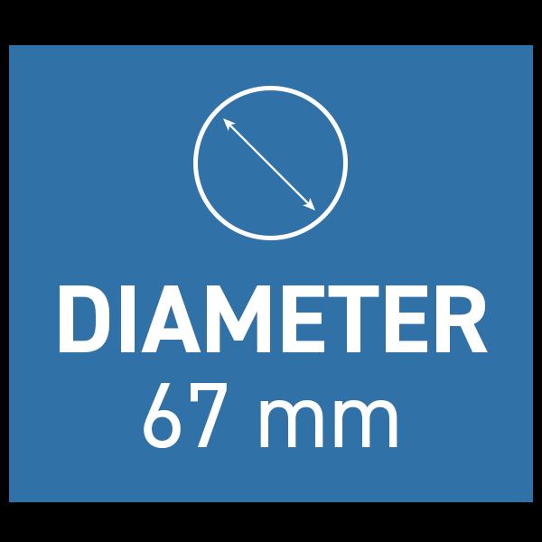 PolarPro Peter McKinnon Variabelt ND-filter Signature Edition II 67mm 2-5 Stop