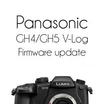 Panasonic GH4/GH5 V-Log Firmware Upgrade