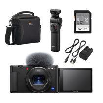 sony starter vlogger kit sony zv-1 gp-vpt2bt sdkort laderkit taske.jpg