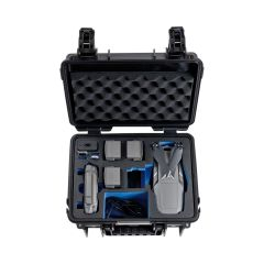 B&W Outdoor Cases BW Drone Cases Type 3000 DJI  Mavic 2 (Pro/Zoom incl. Fly More Kit Sort