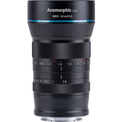 SIRUI Anamorphic Lens 1,33x 24mm F/2.8 MFT-Mount