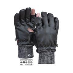 Vallerret Hatchet Leather Photography Glove Black  S