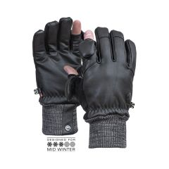 Vallerret Hatchet Leather Photography Glove Black  XXL
