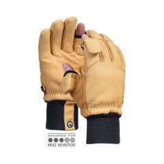 Vallerret Hatchet Leather Photography Glove Natural L