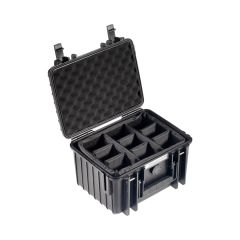 B&W Outdoor Cases BW Drone Cases Type 2000 for DJI Mini 2/DJI Mini 2 Fly More Combo Sort