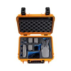 B&W Outdoor Cases BW Drone Cases Type 3000 DJI Mavic 2 (Pro/Zoom incl. Fly More Kit Orange