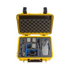B&W Outdoor Cases BW Drone Cases Type 4000 DJI Mavic 2 (Pro/Zoom Fly More Kit Yellow