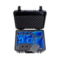B&W Outdoor Cases BW Drone Cases Type 6000  DJI FPV Combo for 6+2 batteries Sort