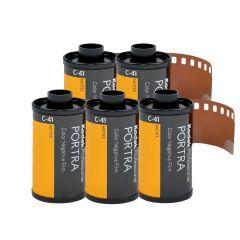 Kodak Portra 160 135-36 Farvefilm 5 pk.