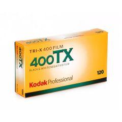 Kodak Tri-X 400TX 120 5 pk. Sort/hvid-film
