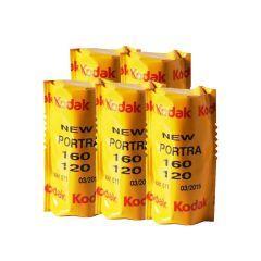 Kodak Portra 160 120 Farvefilm 5 pk.