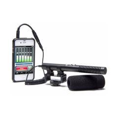 Azden SGM-990+I Shotgun mikrofon til Smartphone