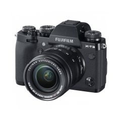Fujifilm X-T3 m. XF 18-55mm f/2.8-4R Sort (Inkl. Fordelsprogram)