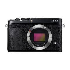Fujifilm X-E3 Hus Sort (Cashback) (Inkl. Enetime & Online Fotokursus U/B)