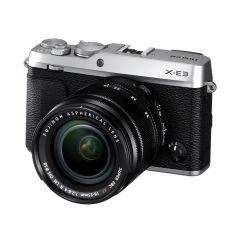 Fujifilm X-E3 m. XF 18-55mm f/2.8-4R Sølv (Cashback) (Inkl. Enetime & Online Fotokursus U/B)