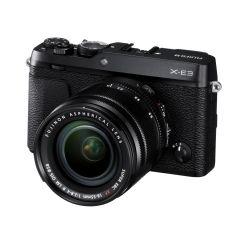 Fujifilm X-E3 m. XF 18-55mm f/2.8-4R Sort (Cashback) (Inkl. Enetime & Online Fotokursus U/B)