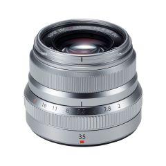 Fujifilm XF 35mm f/2 R WR Sølv