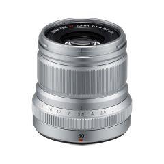 Fujifilm XF 50mm f/2 R WR Sølv
