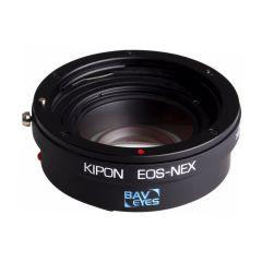 Kipon Adapter Baveyes Canon EF-Sony E 0.7x