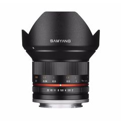 Samyang 12mm f/2 NCS CSC Canon M Sort