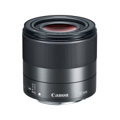 Canon EF-M 32mm f/1.4 STM Sort