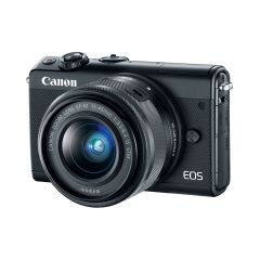 Canon EOS M100 Sort + EF-M 15-45mm IS STM