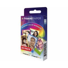 Polaroid Instant Zink Media Rainbow 2X3 20 Pak