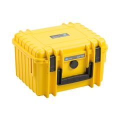B&W Outdoor Cases BW Drone Cases Type 2000 for DJI Mini 2/DJI Mini 2 Fly More Combo Yellow