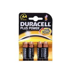 Duracell AA Plus Power 4 stk