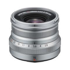 Fujifilm XF 16mm f/2.8 WR Sølv