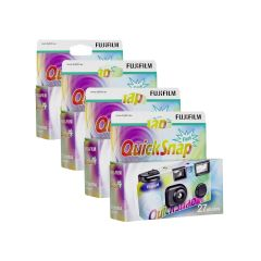Fujifilm QuickSnap Engangskamera, 4 stk