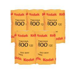 Kodak Portra 800 120 Farvefilm 5 pk.