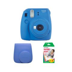 Fujifilm Instax Mini 9 Cobalt Blue Kit