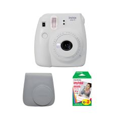 Fujifilm Instax Mini 9 Smoky White Kit