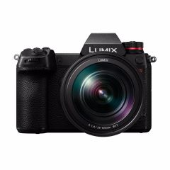 Panasonic Lumix S1R + 24-105mm f/4 (inkl. Extra Original Batteri)