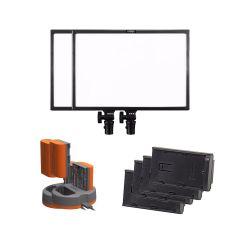 Ledgo E268C LED Panel Dobbelt Kit