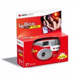 Agfa LeBox Engangskamera 400 Flash