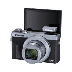 Canon PowerShot G7 X Mk III Sølv (Inkl. Enetime & Online Fotokursus U/B)