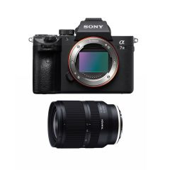 Sony A7 III Hus m. Tamron 17-28mm F2.8 DI III RXD (Inkl. Fordelsprogram) (1000DKK Cashback)