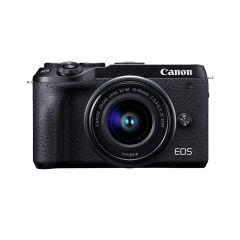 Canon EOS M6 Mk II + EF-M 15-45mm +EVF DC2(Inkl. Fordelsprogram)