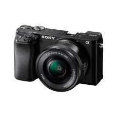 Sony A6100 Hus + 16-50mm f/3.5-5.6 (Inkl. Foto-kursus)