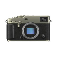 Fujifilm x-Pro3 Hus Dura Silver (Inkl. Fordelsprogram, Extra Originalt Batteri & Peak Design Clutch U/B)