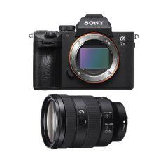 Sony A7 III + FE 24-105mm f/4 G (Inkl. Fordelsprogram) (1750DKK Cashback)