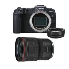 Canon EOS RP Hus m. RF 15-35mm f/2.8L + Adapter (Cashback)