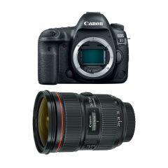 Canon EOS 5D Mk IV Hus m. EF 24-70mm F2.8L II (Cashback)